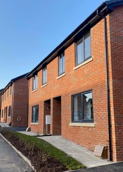 Homes at the Hillside Nursery scheme will be a mixture of two, three and four bedroom houses and one bedroom apartments.
